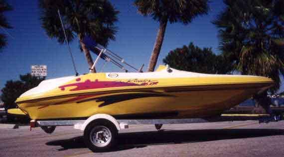 SeaRayder F16XR Page